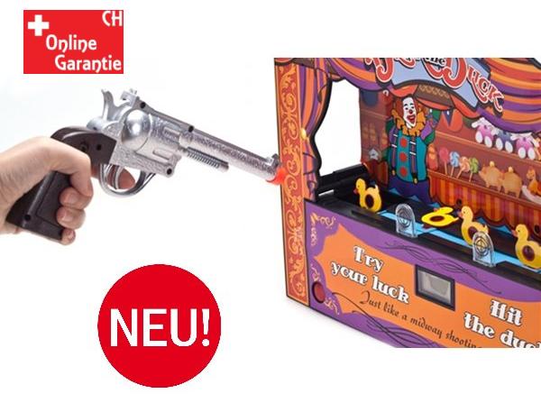 Duck Shoot Enten Schiessen Entenschiessen / Schiessbude auf laufende Ente / Spass für Gross & Klein. Spielzeuge & Basteln 2