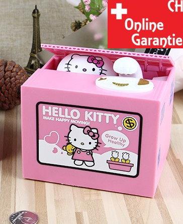 Hello Kitty Hello Geld Münz Dose Sparschwein Spardose Sparbox Geschenk Kinder Baby & Kind