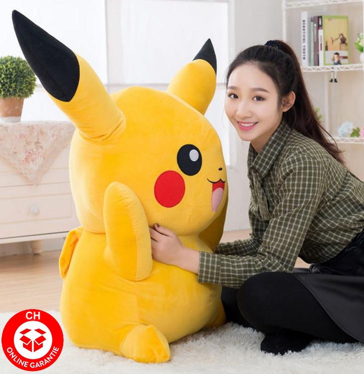 Pokémon Pokemon Pikachu Plüsch Plüschtier 120cm XXL Geschenk Kind Kinder Fans Spielzeuge & Basteln 2