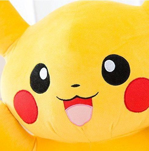 Pokémon Pokemon Pikachu Plüsch Plüschtier 120cm XXL Geschenk Kind Kinder Fans Spielzeuge & Basteln 3