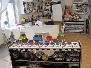 Freies Malen und kreatives Gestalten im Herzen von Zürich Stellen & Kurse 3