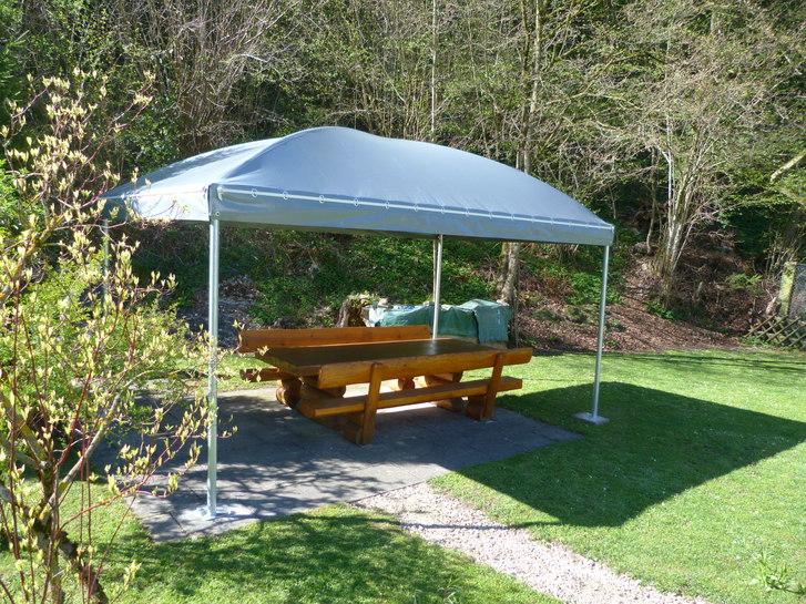 Texbau Gartenzelt, Pavillon, Ganzjahreszelt,Unterstand, Zelt Garten & Handwerk 2