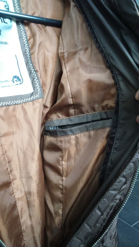 Winterjacke dunkelbraun Grösse S Kleidung & Accessoires 3
