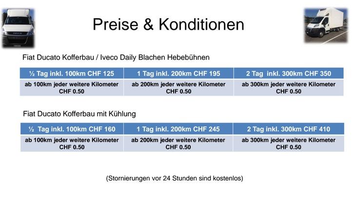 Cosi's Lieferwagen Vermietung  Sonstige 3