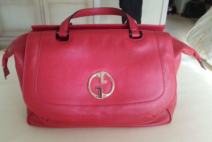 SUPER WEIHNACHTSPRÄSENT: rote Gucci-Tasche Kleidung & Accessoires