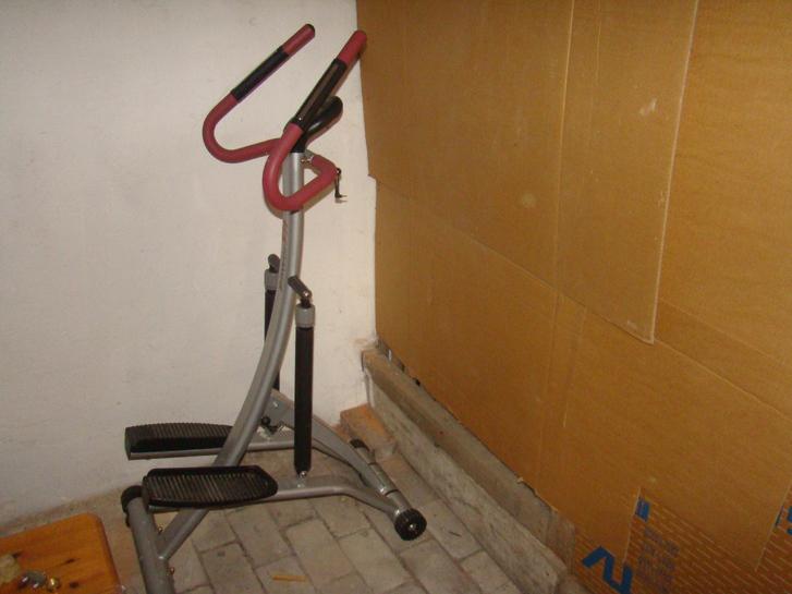 heimtrainer zum steppen pulsmesser mit integriert griffe usw siehe bild( voll funktionsfaehig) Sport & Outdoor