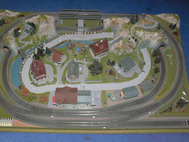 HO FLEISCHMANN Komplettanlage 160x100x30 cm Spielzeuge & Basteln