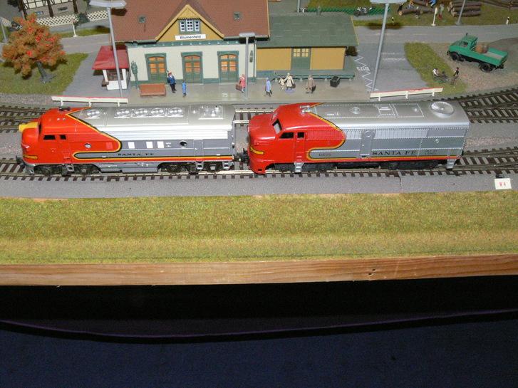 HO FLEISCHMANN Komplettanlage 160x100x30 cm Spielzeuge & Basteln 3