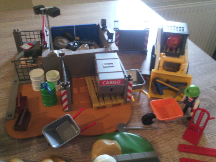 Playmobil Baustelle Spielzeuge & Basteln