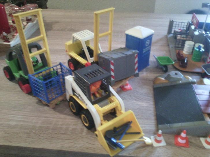 Playmobil Baustelle Spielzeuge & Basteln 3