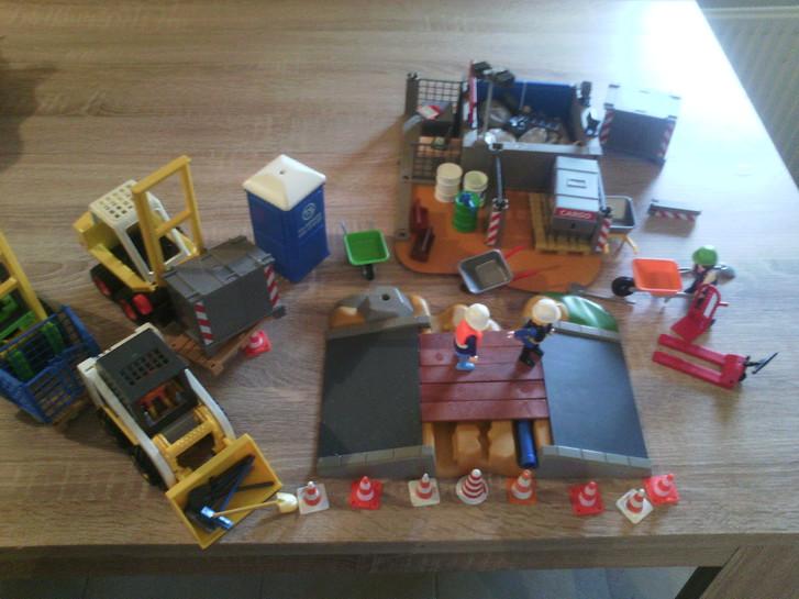 Playmobil Baustelle Spielzeuge & Basteln 4