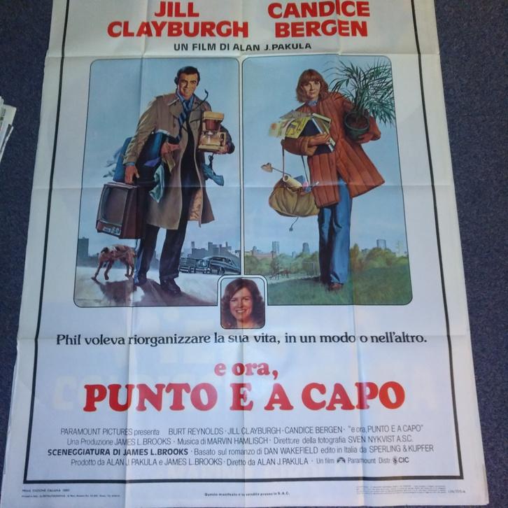 1979 CH Plakat Burt Reynolds Starting Over Punto Sammeln