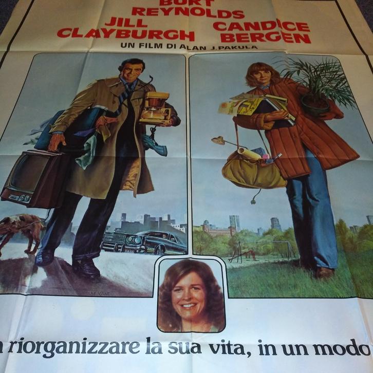 1979 CH Plakat Burt Reynolds Starting Over Punto Sammeln 2