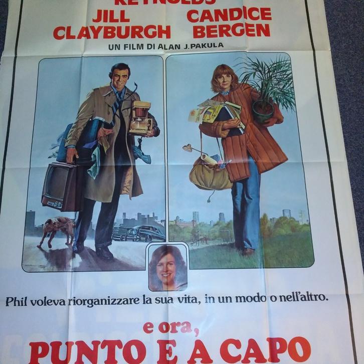 1979 CH Plakat Burt Reynolds Starting Over Punto Sammeln 4