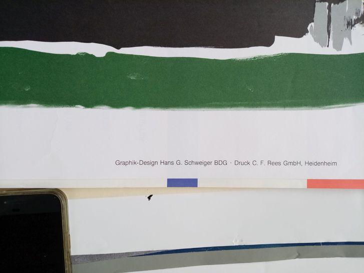 1981 Plakat Picasso Vallauris sign Schweiger Sammeln 2