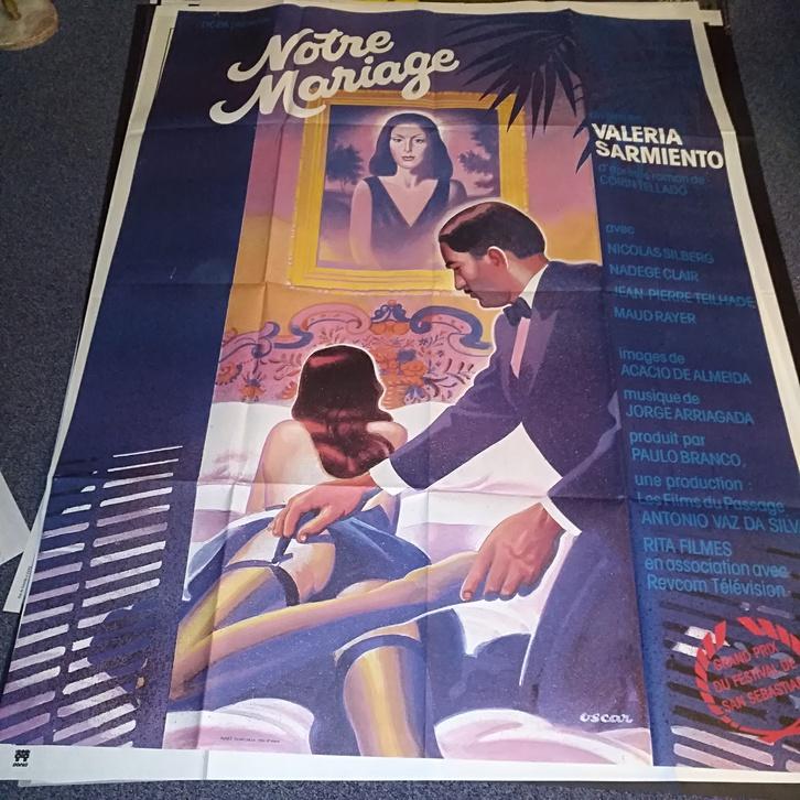 1984 Schweizer Groß Plakat Filmfest San Sebastian Sammeln