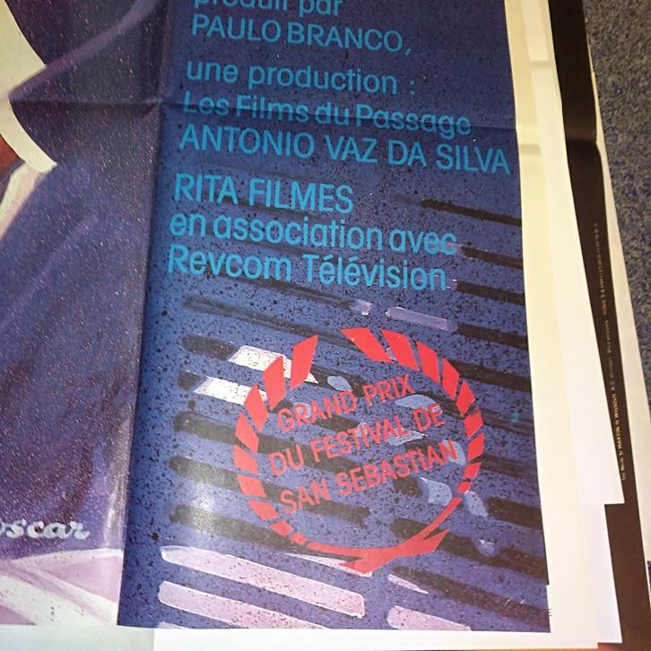 1984 Schweizer Groß Plakat Filmfest San Sebastian Sammeln 2