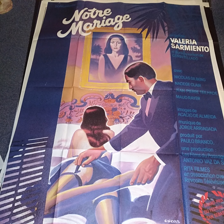 1984 Schweizer Groß Plakat Filmfest San Sebastian Sammeln 3