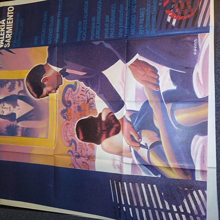 1984 Schweizer Groß Plakat Filmfest San Sebastian Sammeln 4