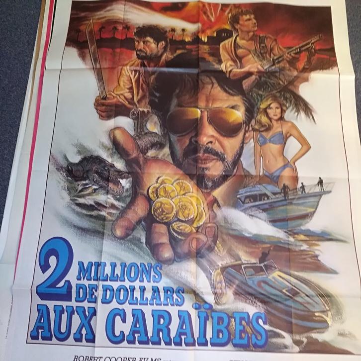 1986 CH Groß Plakat Florida Strasse Sammeln