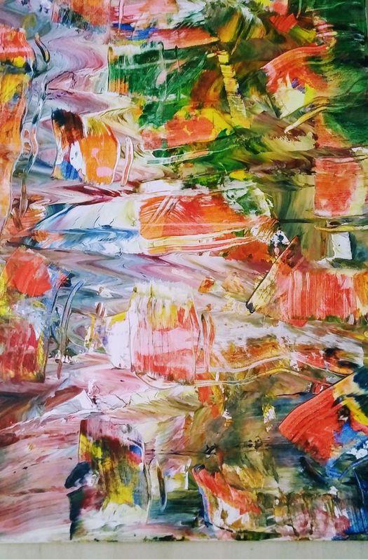 Acrylbild von P.Ballach neu Sammeln