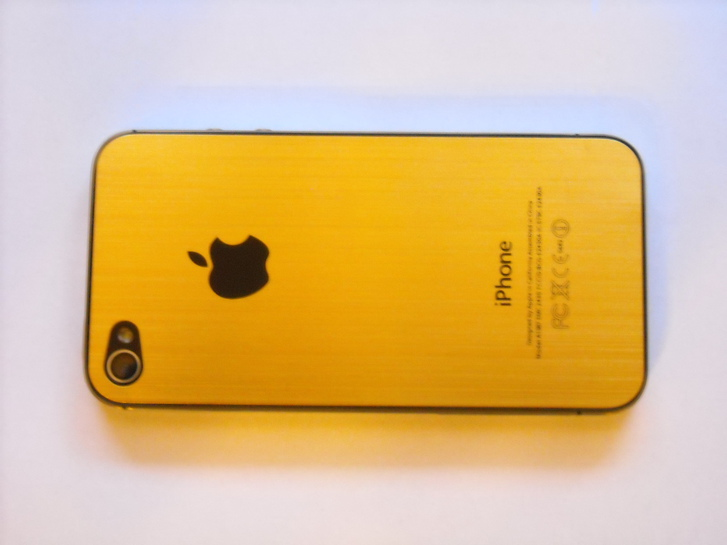 Apple iPhone 4s 64GB Gold Luxus VIP Telefon & Navigation 4