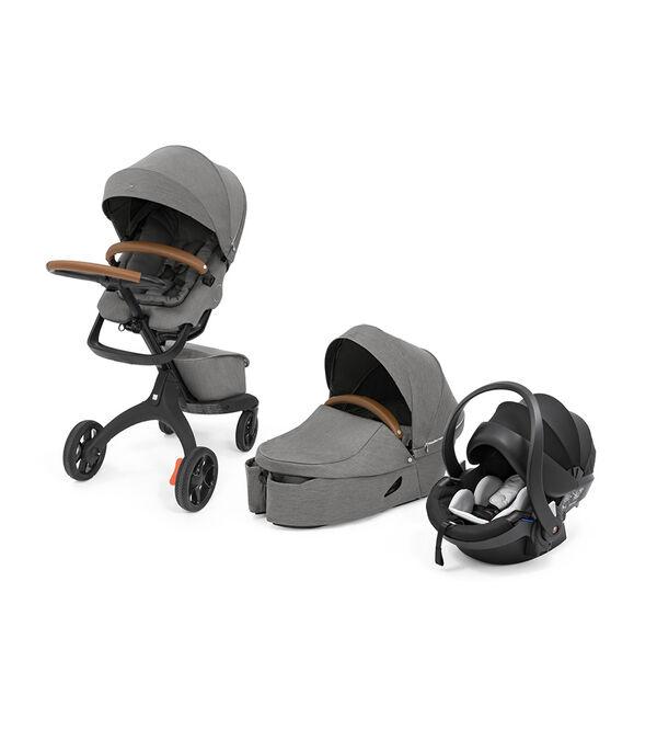 Brandneuer Stokke Xplory X 2021 Original kompletter Kinderwagen Baby & Kind