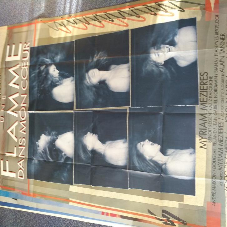 CH Arte Kunst Plakat Une Flamme dans mon Couer Sammeln 3