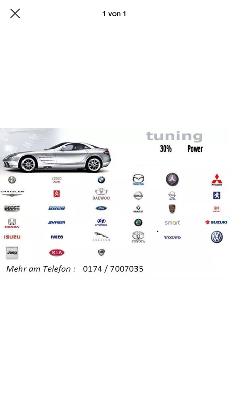 Chiptuning Software tuning  Sonstige
