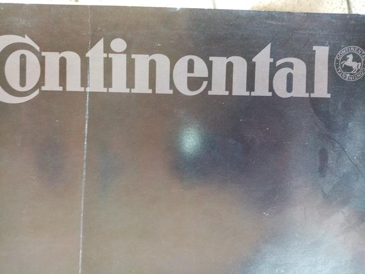 Conti goes Fashion  Continental Werbe Plakat A1 der 90er Sammeln 3