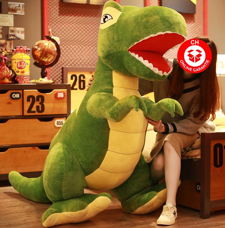 Dino Plüsch Dinosaurier T-Rex Tyrannosaurus Rex Plüschtier Plüsch Geschenk XL XXL XXXL Kind Kinderzimmer Baby & Kind