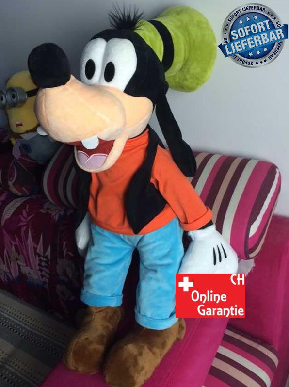 Disney Goofy Plüsch 75cm grosses Plüschtier Kuscheltier Puppe Geschenk Kind XXL Spielzeuge & Basteln 2
