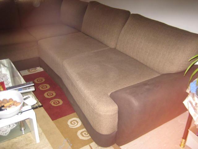 Ecksofa,mit Doppelbett Haushalt