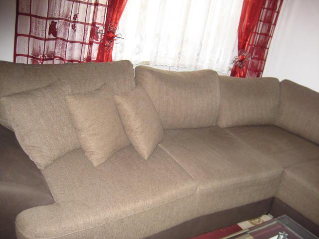 Ecksofa,mit Doppelbett Haushalt 2