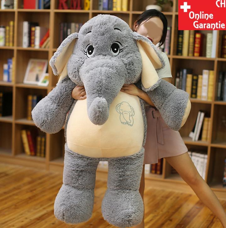 Elefant Elefanten Plüsch Plüschtier Kuscheltier XXL Geschenk Kind Kinder Freundin Spielzeuge & Basteln