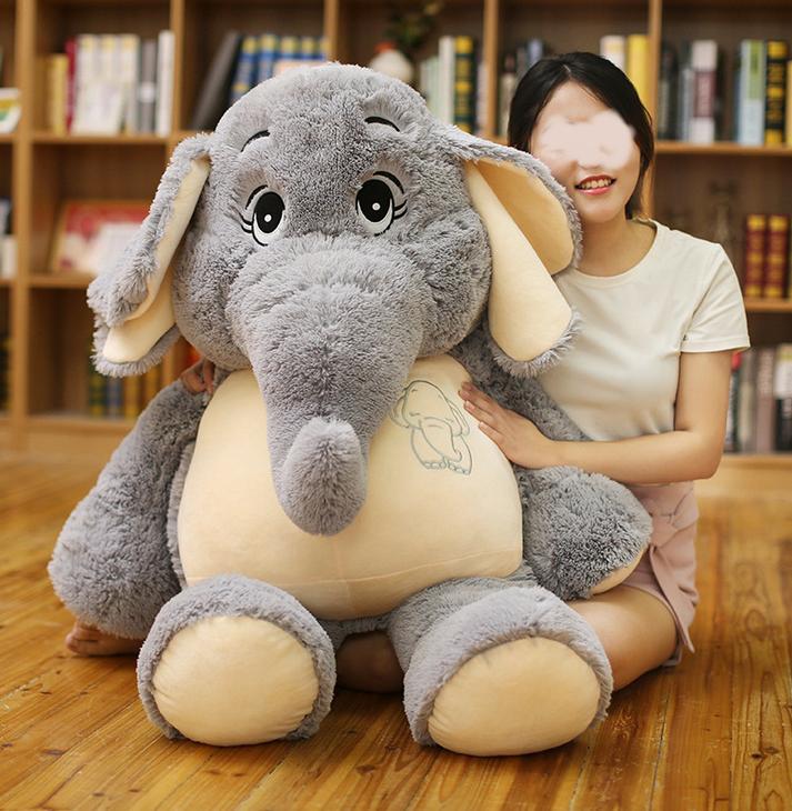 Elefant Elefanten Plüsch Plüschtier Kuscheltier XXL Geschenk Kind Kinder Freundin Spielzeuge & Basteln 2
