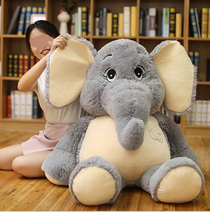 Elefant Elefanten Plüsch Plüschtier Kuscheltier XXL Geschenk Kind Kinder Freundin Spielzeuge & Basteln 3