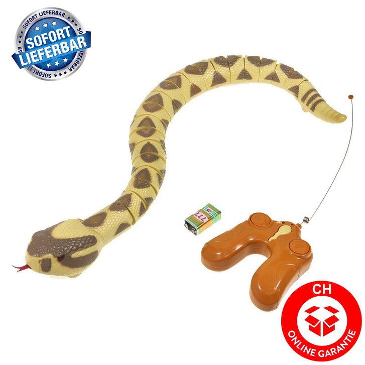 Ferngesteuerte Schlange Fernbedienung Spielzeug Rattelsnake RC Kind Kinder Spielzeuge & Basteln