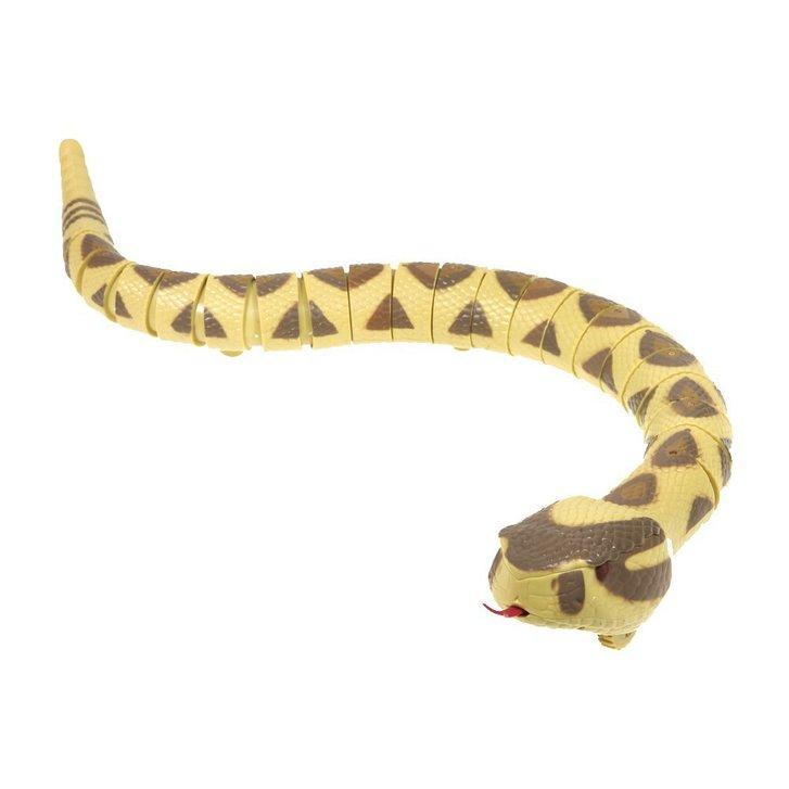 Ferngesteuerte Schlange Fernbedienung Spielzeug Rattelsnake RC Kind Kinder Spielzeuge & Basteln 2