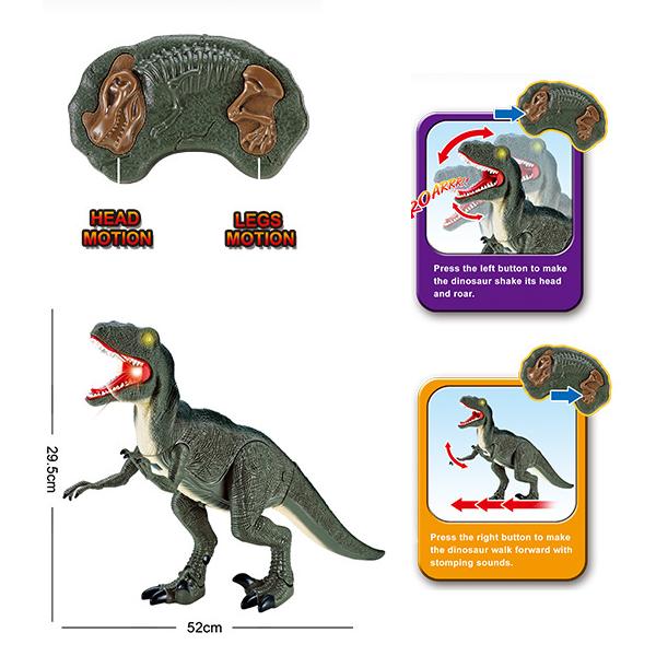 Ferngesteuerter Dinosaurier Velociraptor Spielzeug RC Dino Raptor Geschenk Kind Kinder Spielzeuge & Basteln 2