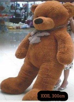 Gigantischer XXXL Plüsch Teddybär Bär Plüschbär Teddy Ted Dunkelbraun Plüschtier Kuscheltier Geschenk Kind Kinder Freundin XXL Spielzeuge & Basteln 3