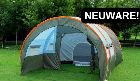 Grosses Tunnel Zelt Partyzelt Hauszelt Festzelt Camping Reisen Wandern Festival Schlafabteil für ca. 5-8 Personen Sport & Outdoor 3