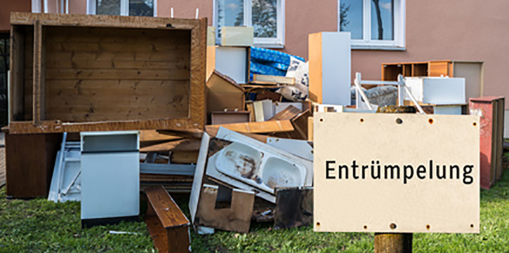 Haushaltsauflösung & Entrümpelungen Garten & Handwerk