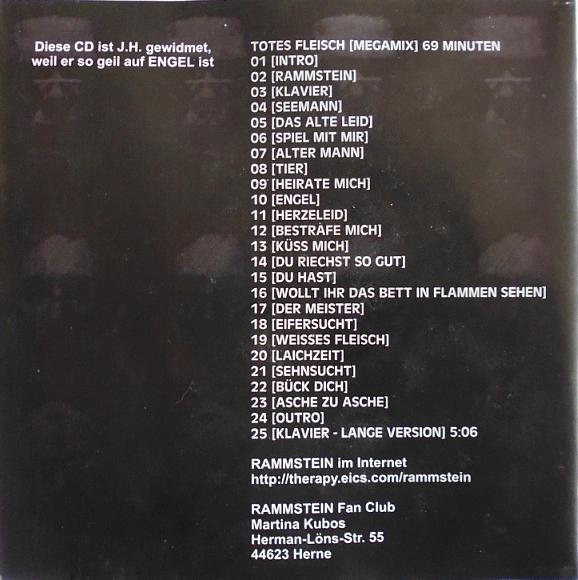 Ich suche genau so, wie auf den Fotos hier zu sehen, diese CD's von Rammstein und noch mehr von dieser Gruppe...!!! Musik 2