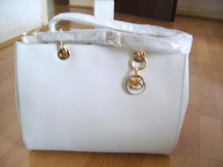 Michael Kors CYNTHIA OPTIC WHITE NEU!!! Kleidung & Accessoires