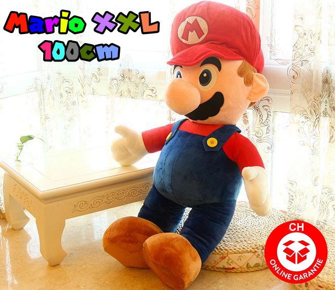 Nintendo Super Mario XXL Plüsch Figur Plüschtier Geschenk Kuscheltier Plüschfigur Kult Klempner Spielzeuge & Basteln