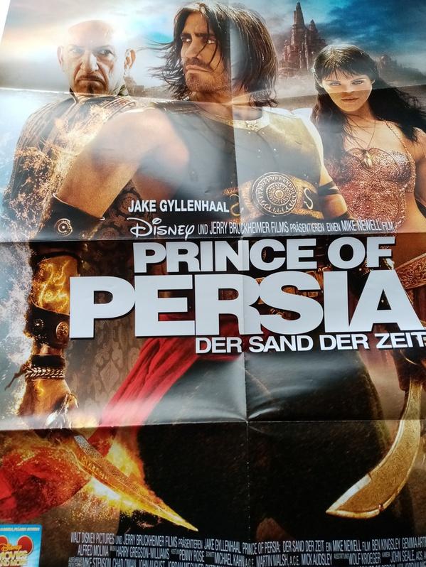 Orginal Disney Plakat A1  Prince of Persia Sammeln