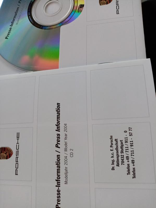 Orginal Porsche Presse Booklet  Cayenne 1. Generation Antiquitaeten 3