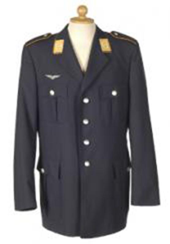 Original Bundeswehr Uniformjacke Luftwaffe Gr. 50 Kleidung & Accessoires
