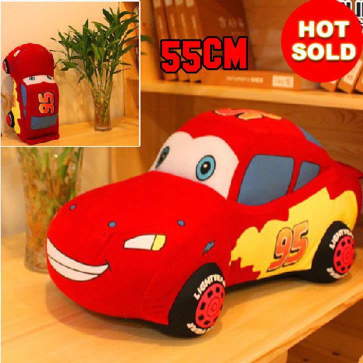 Original Disney Cars Lightning Mc Queen Plüsch Figur Auto Stofftier Plüschauto Geschenk Kind Junge Kinderzimmer Spielzeuge & Basteln